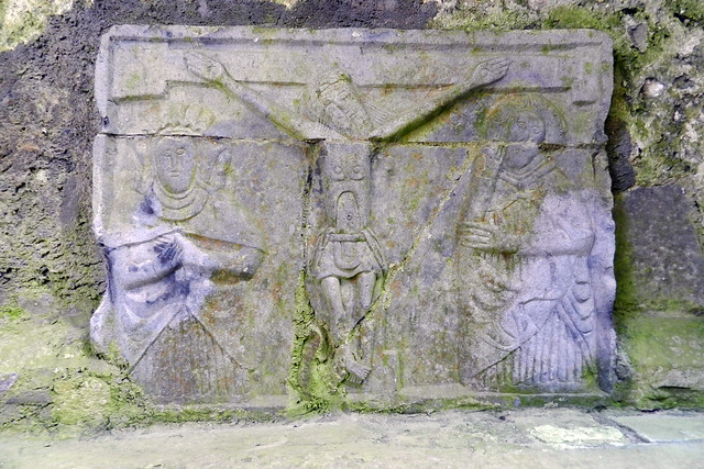 relieve Calvario Castillo Roca o Rock of Cashel Republica de Irlanda
