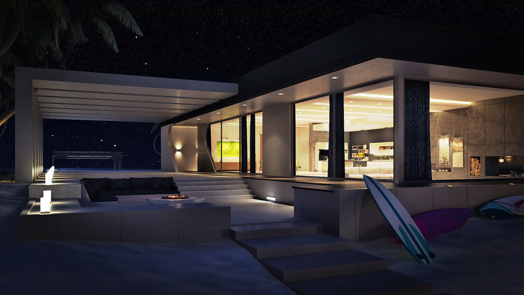 Island Residence by Abiss  // Patio