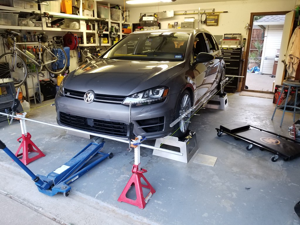VWVortex com - How to do your own suspension alignment, and