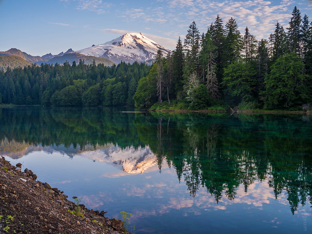 Mount Baker Reflection GFX50s