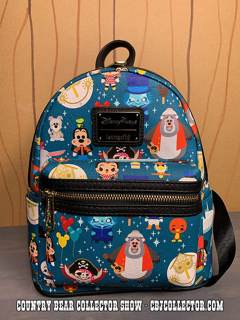 2019 Loungefly Cute Disney Parks Backpack - Country Bear Collector Show #213