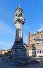 Monumento a Tait torre del reloj Memorial clock tower Tait's Clock 1867 Limerick Republica de Irlanda