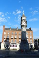 Monumento a Tait torre del reloj Memorial clock tower Tait's Clock 1867 Limerick Republica de Irlanda 01