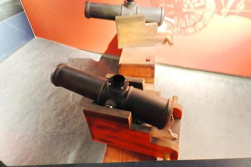 cañones antiguas armas de fuego museo Castillo del Rey Juan sin tierra Limerick Republica de Irlanda