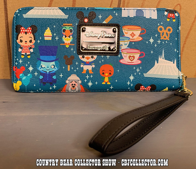 2019 Loungefly Cute Disney Parks Wristlet - Country Bear Collector Show #214