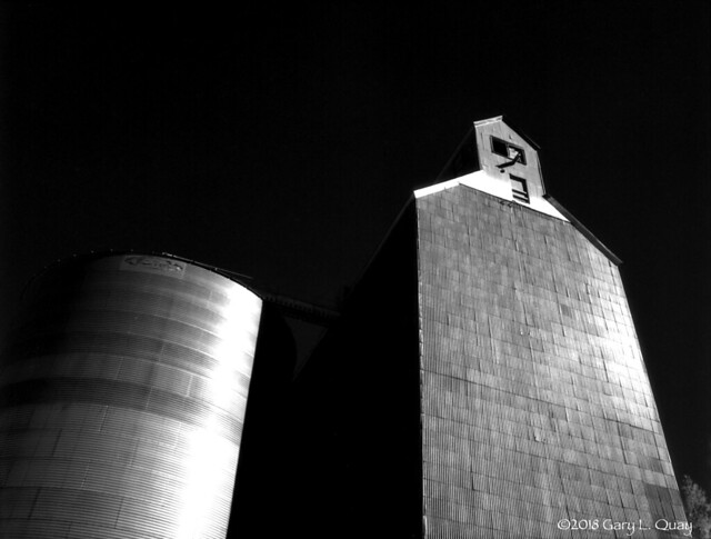 Dufur Grain Elevator, Summer 2018, Infrared # 2