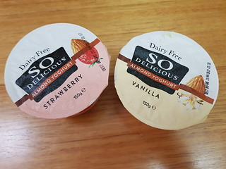 So Delicious Almond Yoghurts from WW