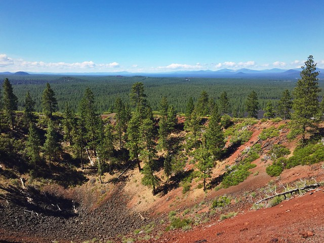 Top of Lava Butte