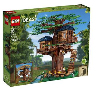 「新增官圖&販售資訊」一起來蓋超美樹屋,還可以表現出季節變換! LEGO 21318 Ideas 系列【樹屋】Tree House