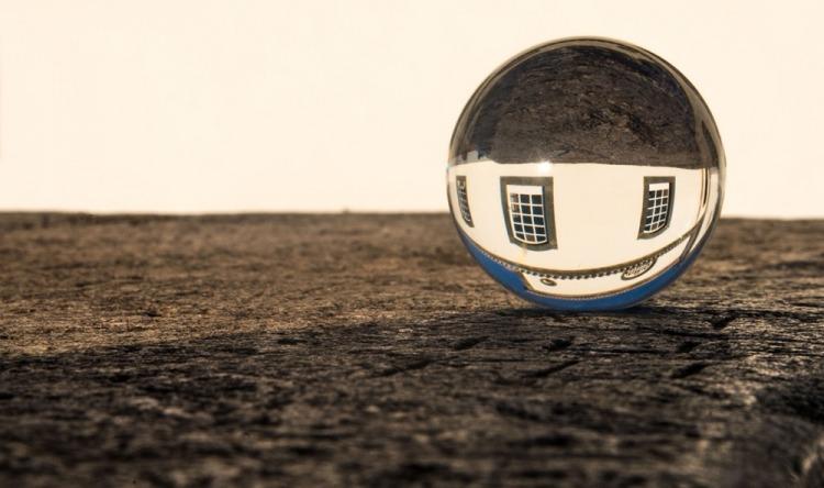 Vencedor do desafio mensal: Esfera com reflexo