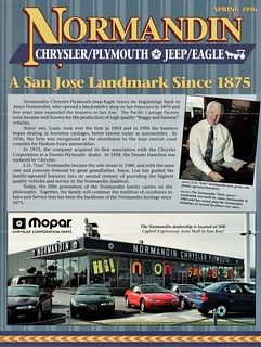 San Jose Car Dealerships >> Normandin Chrysler Plymouth Jeep Eagle San Jose Ca 1996