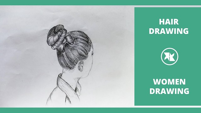 How to draw a girl with Beautiful Hairstyle