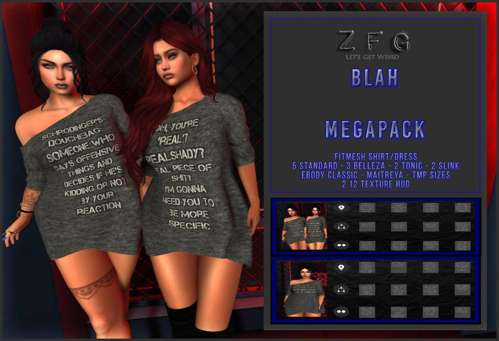 {zfg} blah mega pack