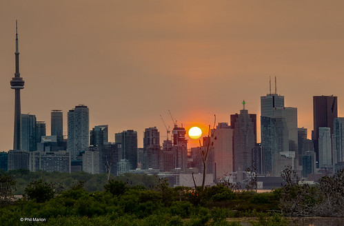 Toronto sunset | by Phil Marion (184 million views - THANKS)