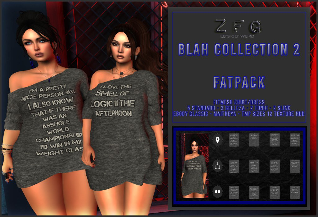 {zfg} blah collection 2