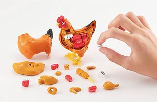 大吉大利,今晚吃雞!Megahouse『買一整隻!烤雞拼圖(一羽買い!!焼き鳥パズル)』
