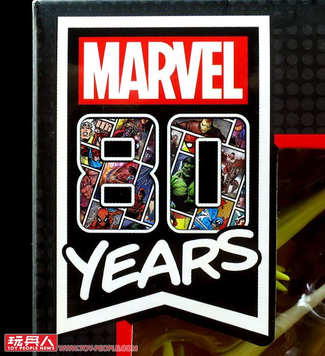 與掌中的可動英雄一同慶祝榮耀的八十年!孩之寶漫威傳奇系列「漫威80周年」開箱報告PART 1