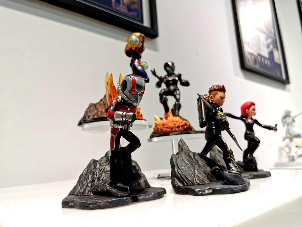 復仇者 VS 瘋狂泰坦熱戰再開!! Toylaxy PVC場景雕像系列《復仇者聯盟:終局之戰》第一波角色 開箱報告