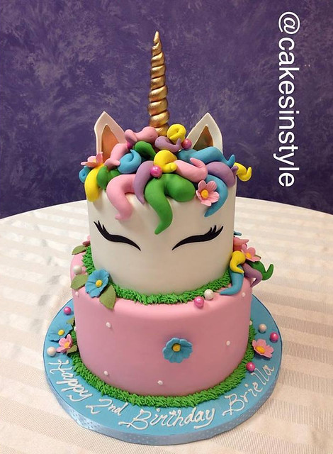 Unicorn Cake by Cakes In Style
