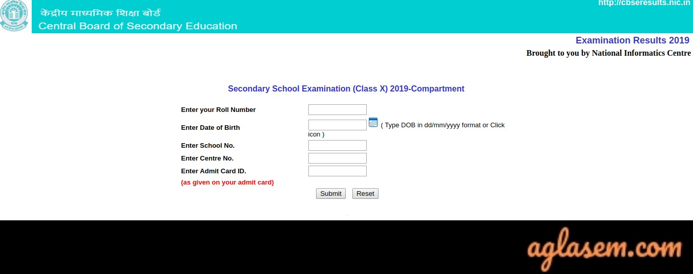 CBSE 10th Compartment Result 2019- Announced