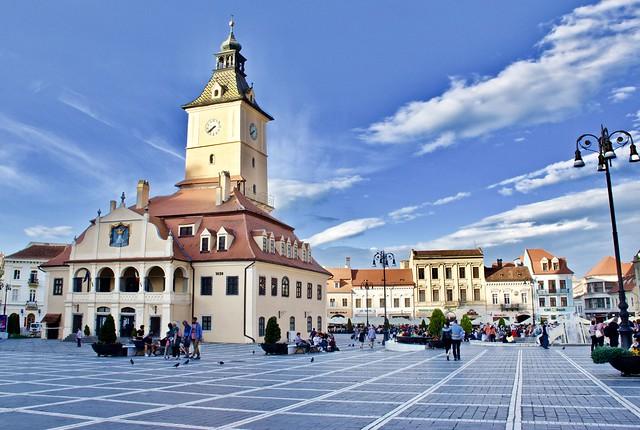 The medieval city of Brasov