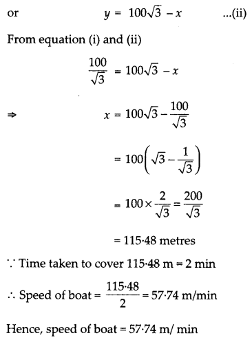 CBSE Previous Year Question Papers Class 10 Maths 2019 Delhi Set I Q26.1