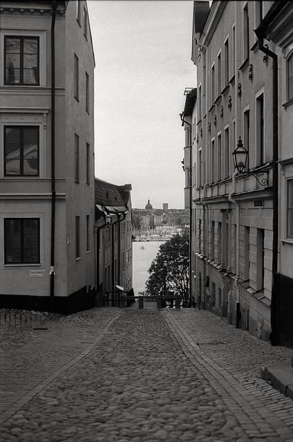Analog photo: Katarina Kyrkobacke, Södermalm Stockholm
