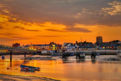 shoreham west sussex england united kingdom uk river sand wet reflections boats bridge sunset golden hour lumix s1r panasonic 24105mm f40 dxo photolab affinityphoto arora