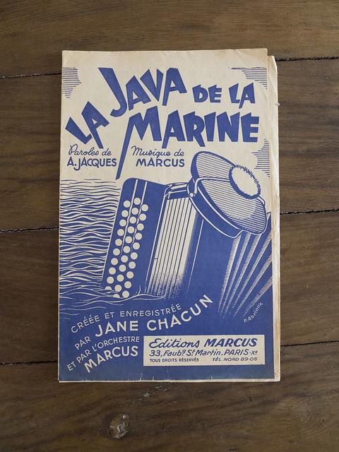 Jane Chacun : La java de la marine