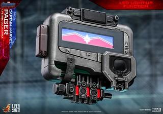 有了這個你也可以呼叫「她」!! Hot Toys - LMS009 -《復仇者聯盟:終局之戰》驚奇隊長呼叫器 Captain Marvel Pager 1:1 比例道具複製品