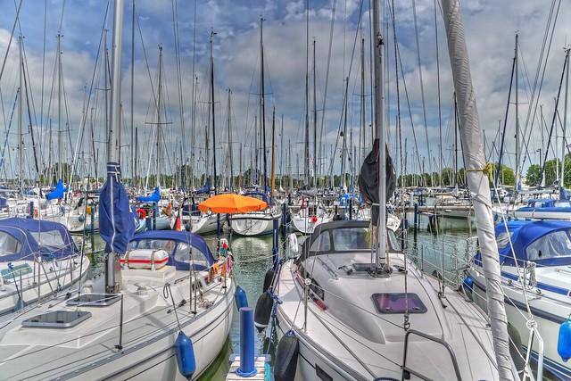 Jachthafen Makkum Ijsselmeer