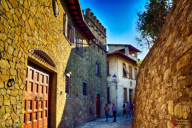For ancient Tuscan villages