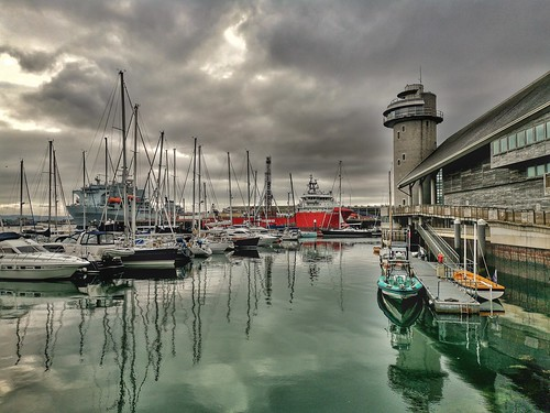 Falmouth Docks and National Maritime Museum
