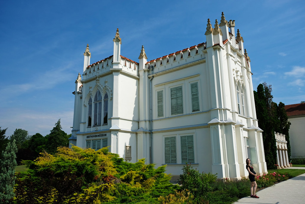 July 2019: Brunszvik Castle, Martonvásár, Hungary