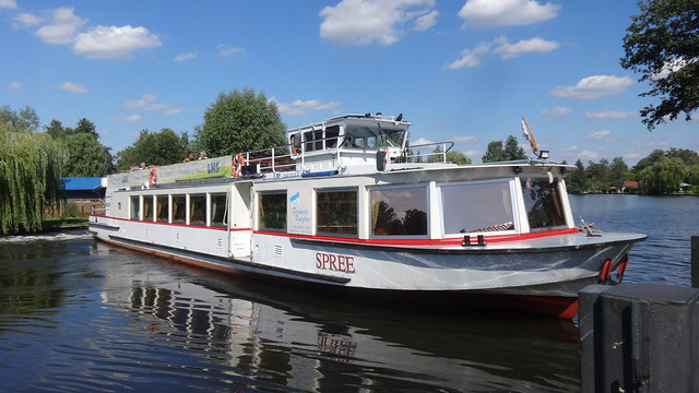 1978 Fahrgastmotorschiff FMS Spree von VEB Yachtwerft Köpenick Bau-Nr. 1111-09 bei Reederei Kutzker in Grünheide auf Müggelspree in 12589 Berlin-Rahnsdorf