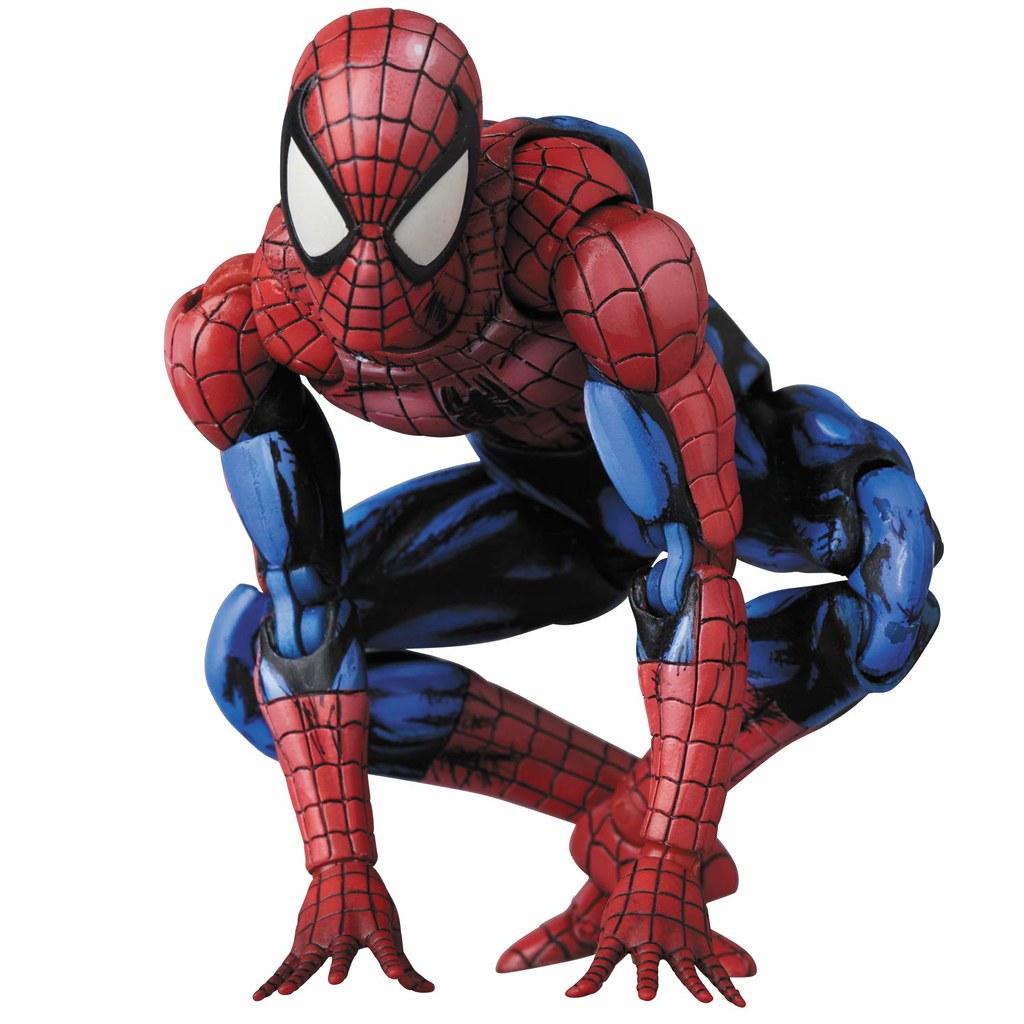 展現出漫畫作品魅力的新塗裝! MAFEX Marvel Comics【蜘蛛人(漫畫塗裝版)】SPIDER-MAN(COMIC PAINT)
