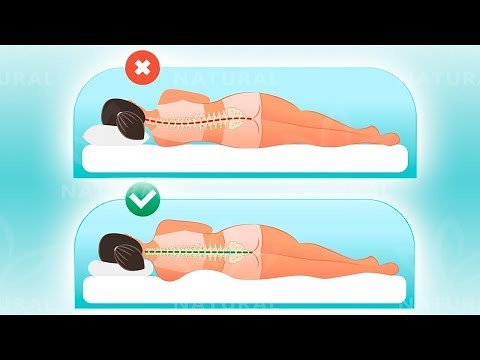 the best sleep position for neck shoulder and back pain