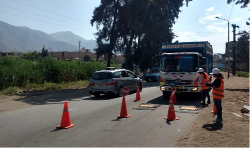 COMSA rehabilitates the AN 104 road in Peru