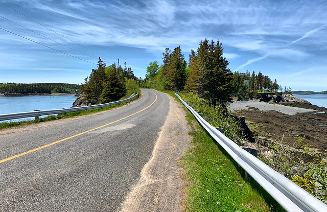 New Brunswick road trip across the Bay of Fundy, Canada