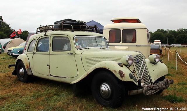 Citroën Traction Avant 11 Commerciale 1955