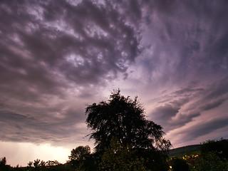 Thunderstorm over exmoor