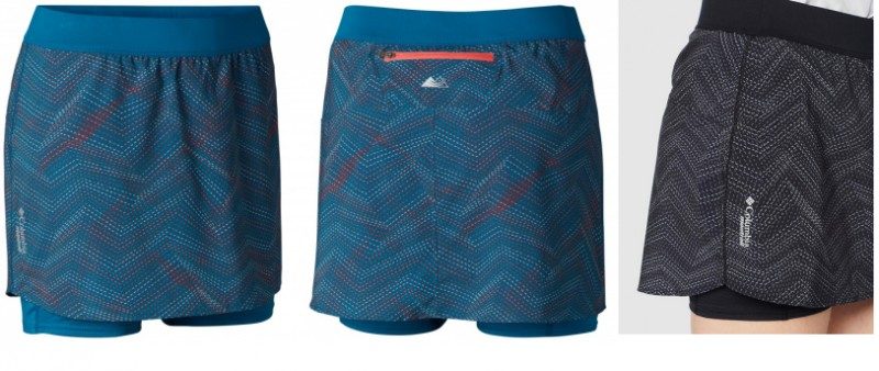 TEST: Columbia Ultra Titan Skort – Sukně jako od Churchilla