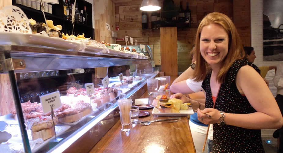 Doen in Madrid: tapas eten aan Cava Bajas | Mooistestedentrips.nl