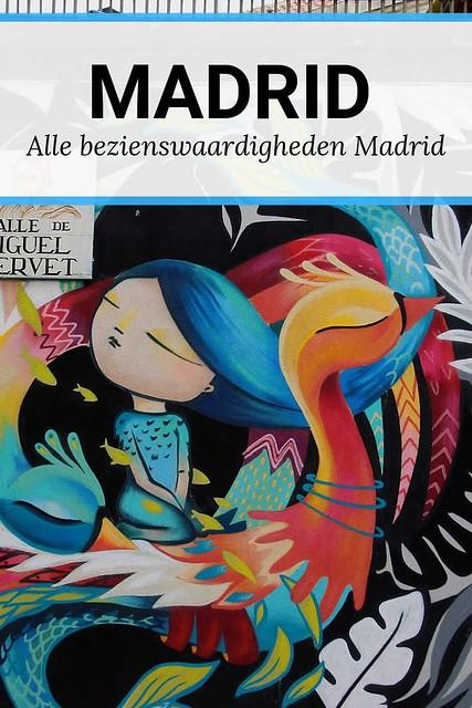 Bezienswaardigheden Madrid, street art in Madrid | Mooistestedentrips.nl