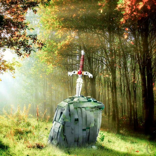 LEGO-Excalibur Scene