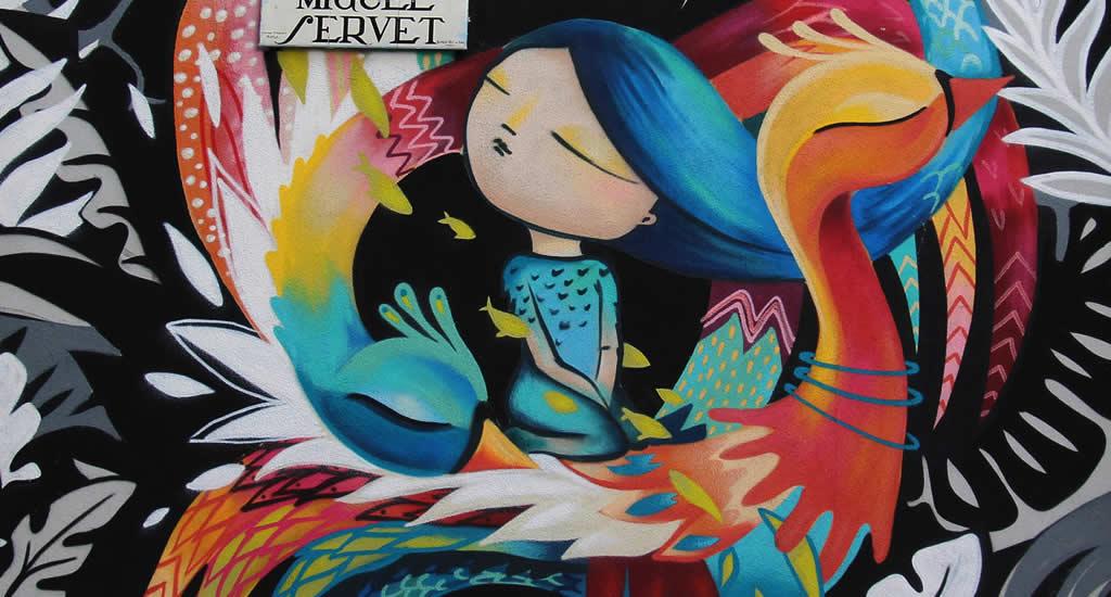 Street art in Madrid | Mooistestedentrips.nl