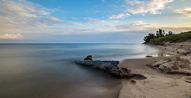 Lake Michigan Shoreline......