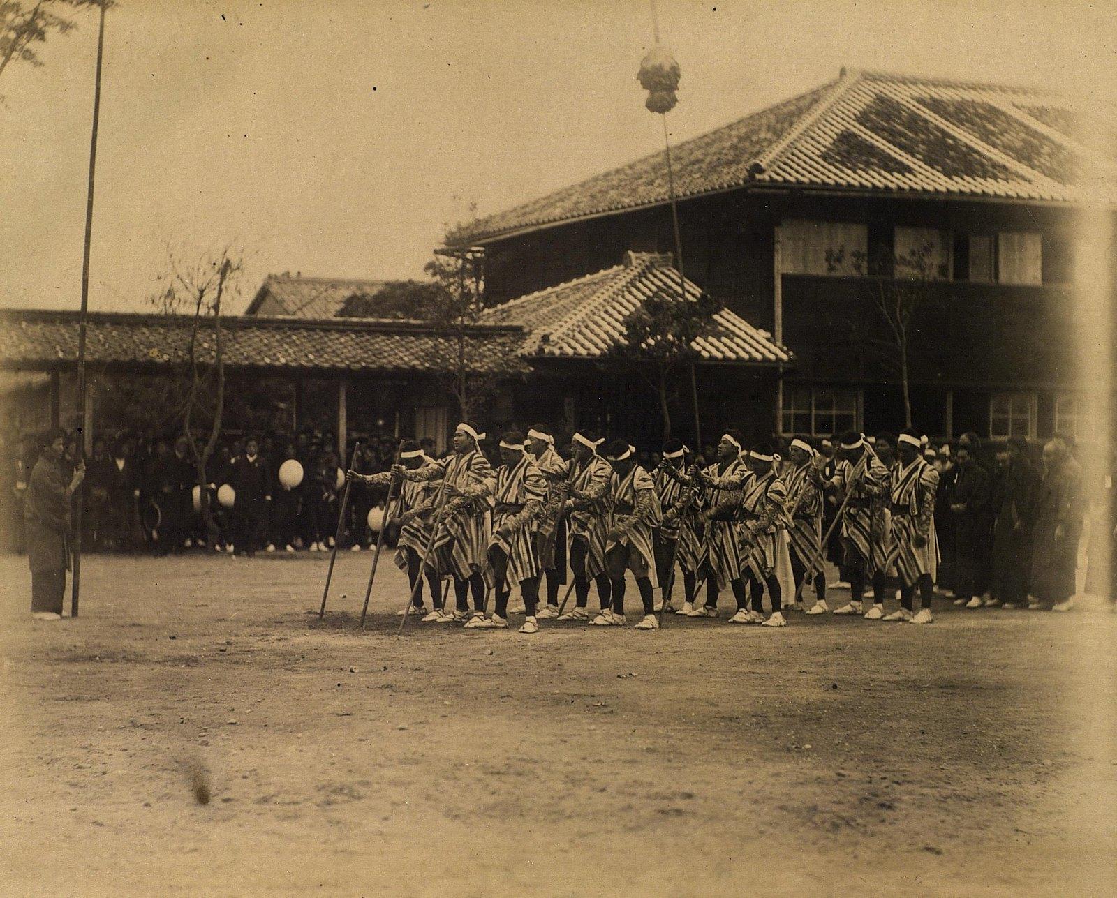 11. 1891. Кагосима. Праздничное шествие