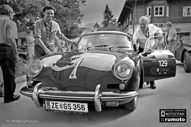 1962 Porsche 356 Carrera 2 Dr. Wolfgang Porsche (c) 2019 Берни Эггерян :: rumoto images 1852 bw