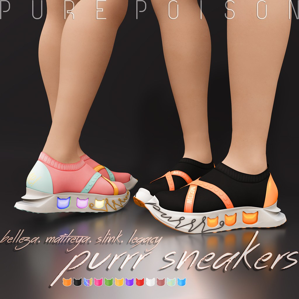 Pure Poison – Purrr Sneakers AD